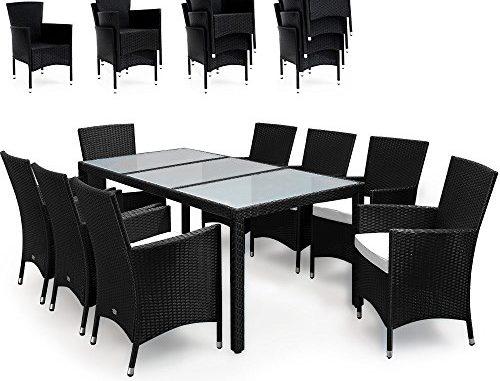 17tlg PolyRattan Sitzgruppe Gartenmöbel Gartenset - rattan-sofa.de